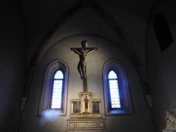 Crocefisso all'interno della Cattedrale