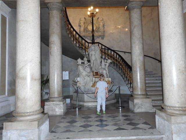 Atrio del museo