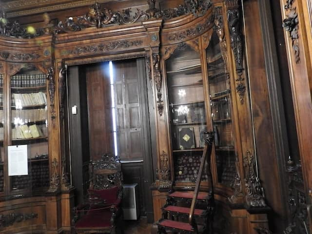 Saletta della biblioteca