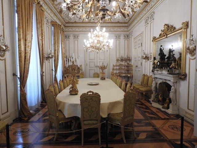 Angolo sala da pranzo