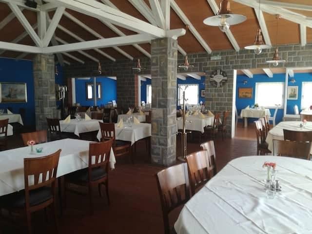 Inre rummet Valmarin restaurang
