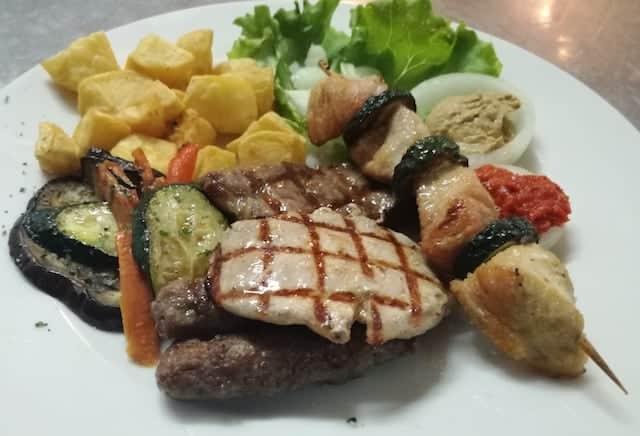 Blandad grill