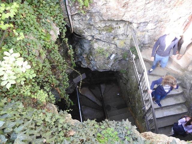 scalini grotta gigante trieste