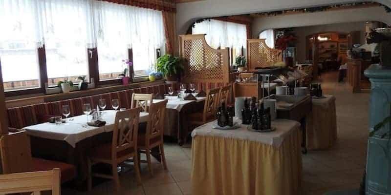 Sala da pranzo, ristorante Spartiacque