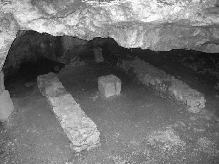 grotta del Mitreo - pasquale revoltella