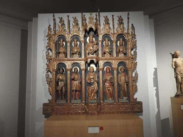 Domenicoda Tolmezzo - Madonna con Bambino e Santi