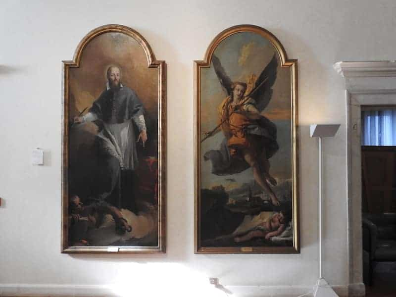 Giambattista Tiepolo - San Francesco di Sales e Angelo custode,
