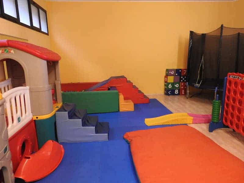 area bambini hotel Il Cervo