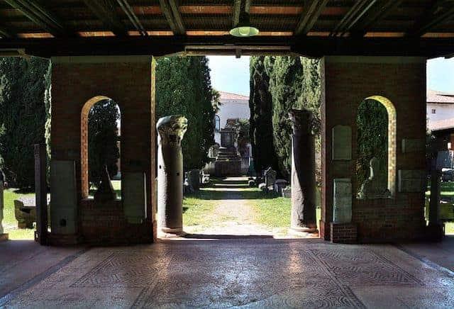 gallerie lapidarie e mosaici pavimentali