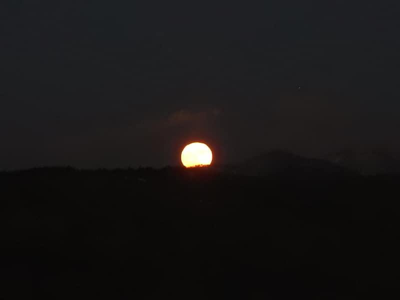 stigande måne - Sveta Gora