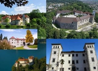 Slotte i Slovenien
