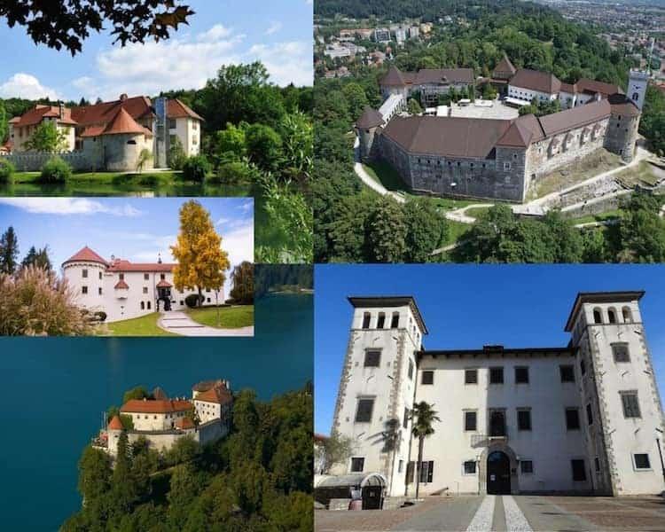 Castelli della slovenia
