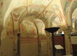 cripta degli affreschi, aquileia