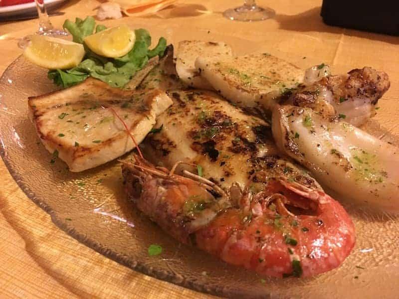 Grigliata di pesce - Ristorante da Franco