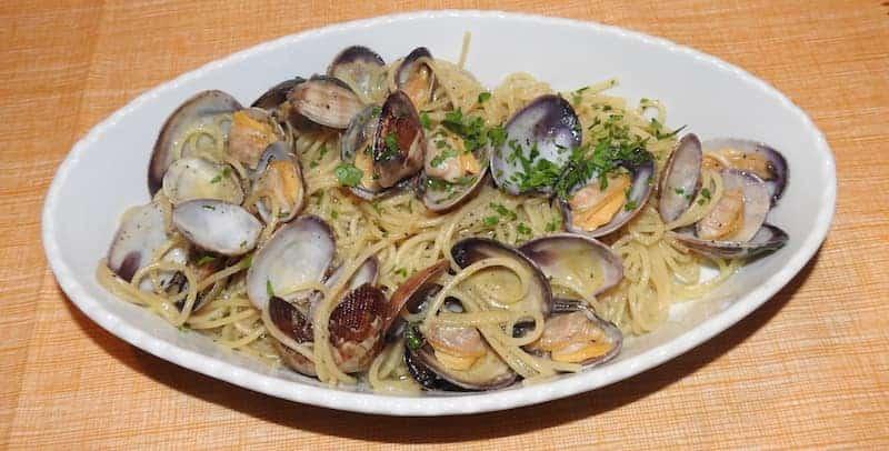 Spaghetti alle vongole - Ristorante da Franco