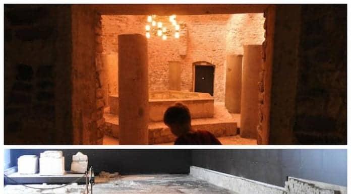 Baptistery och Sudhalle