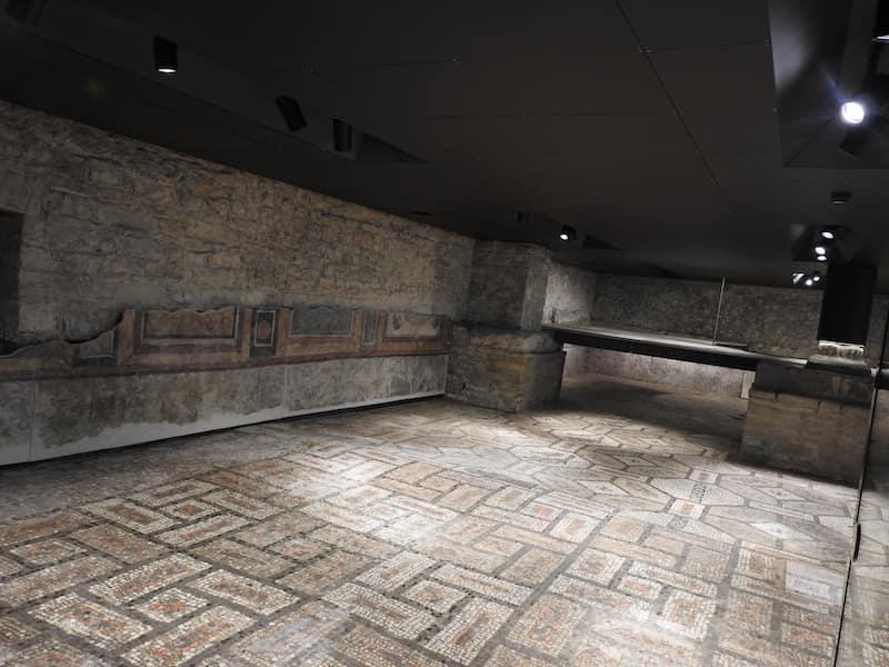 mosaico della Cripta degli Scavi
