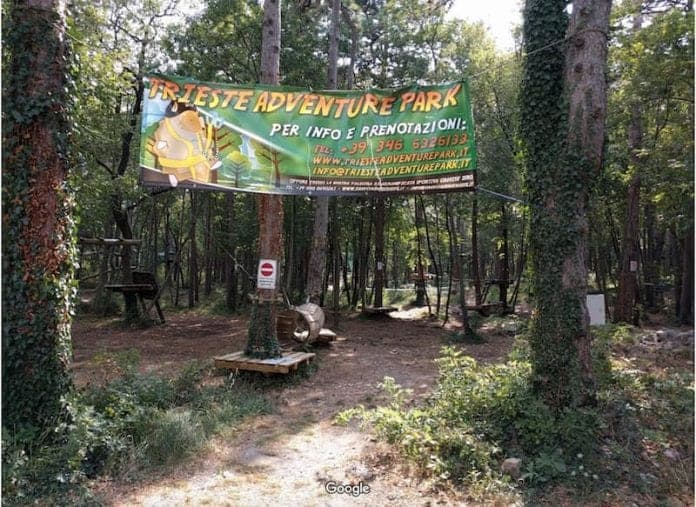adventure park trieste