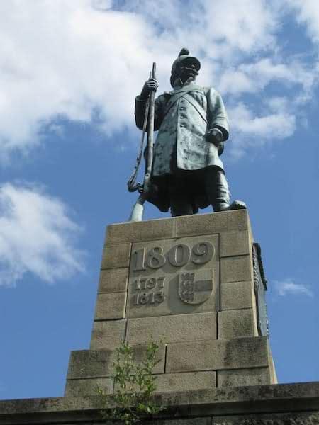 monumento del soldato asburgico