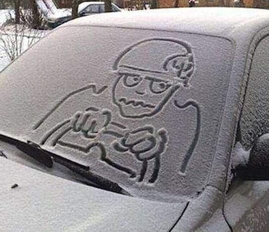 errori da non commettere sulla neve