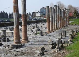 arkeologiska området Aquileia