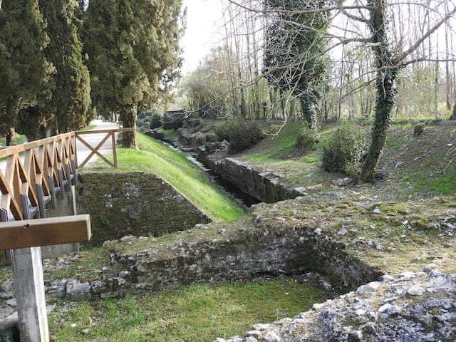 Romerska kvarlevor vid Aquileia