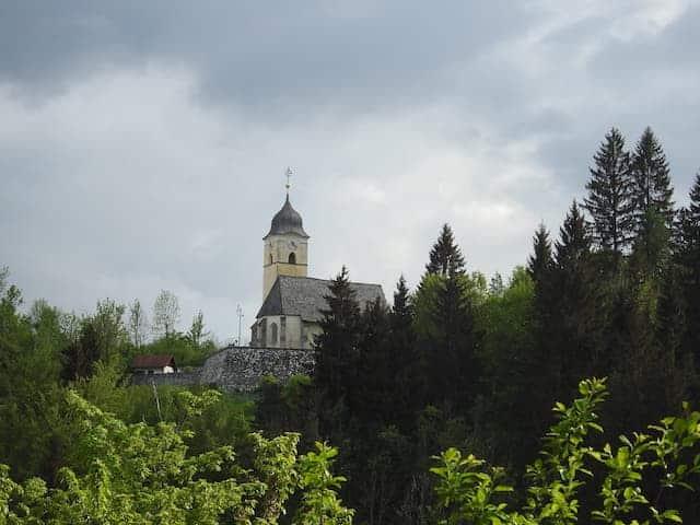La chiesa di Coccau