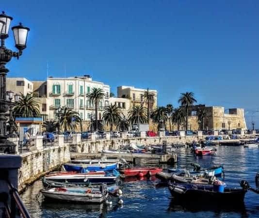 vad man ska besöka i Bari