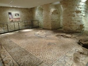 pavimento a mosaico