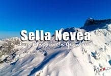 A Sella Nevea con Margherita Granbassi
