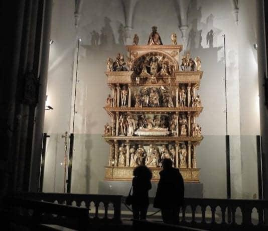 altare ligneo di Giovanni Martini
