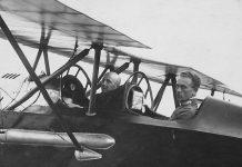 Gabriele D'Annunzio pilota eroico