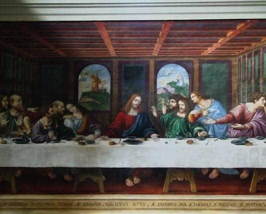 Sista måltiden av Leonardo Da Vinci