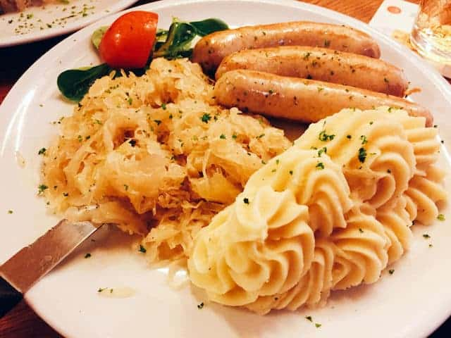 salsicce e crauti, Frankfurter