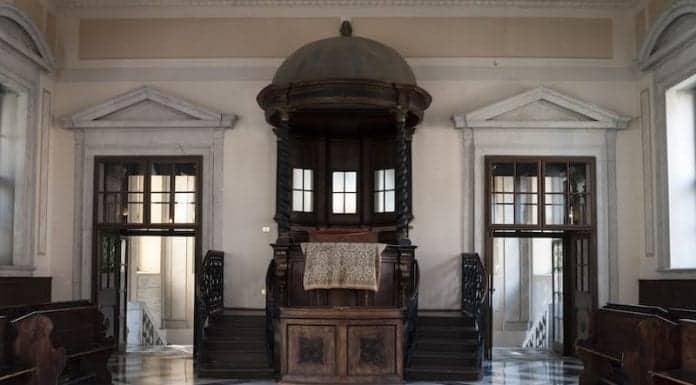 Synagogan av Gorizia