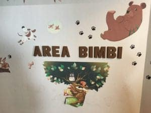 area bimbi hotel il Cervo