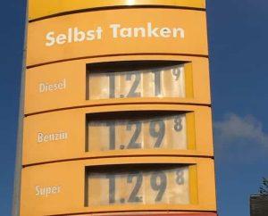 benzina austria
