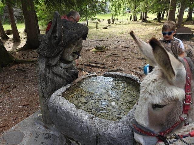 fontana di acqua potabile