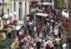 turister i Cividale del Friuli