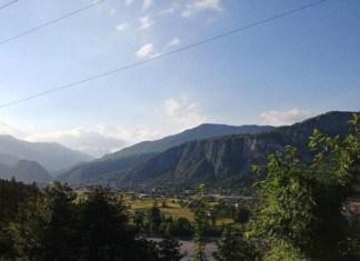 Vista di Villa Santina ed Invillino
