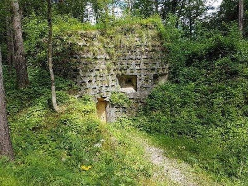 ingresso ad un bunker