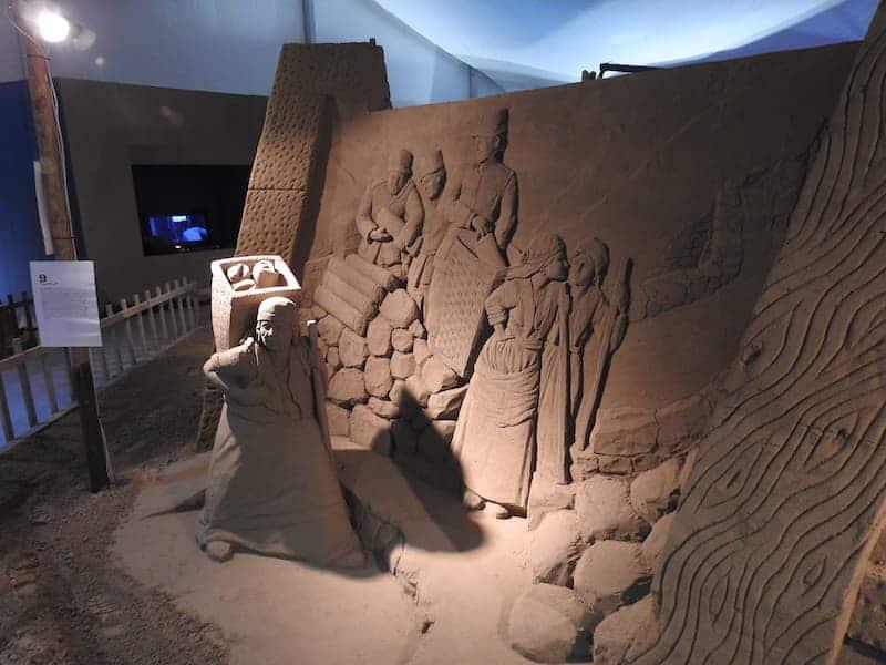 presepe di sabbia lignano