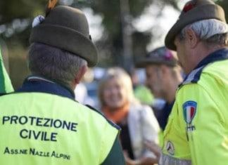 Protecção Civil e Alpini
