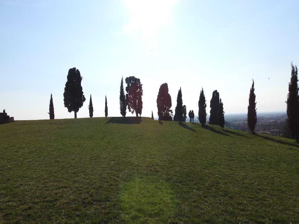 panorama dal castello di fagagna